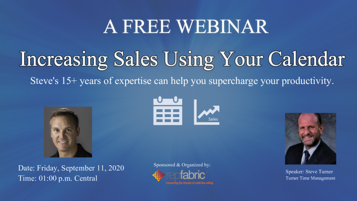 Increasing Sales using your Calendar